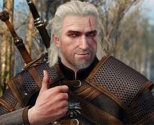 Jeszcze ładniejszy Geralt