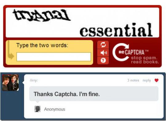 ''Koniecznie spróbuj!' radzi CAPTCHA