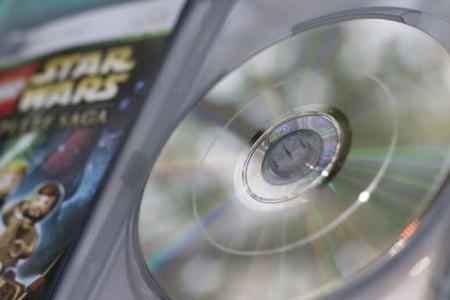 Płytka po kuracji Xboxem 360