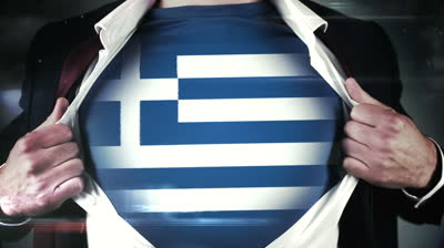 stock-footage-businessman-opening-shirt-to-reveal-greek-flag-on-black-background