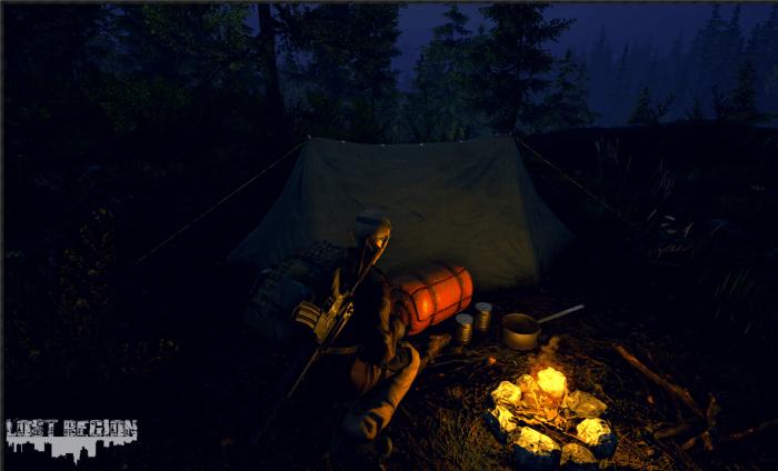 O wygląda Lost Region zadba Unreal Engine 4