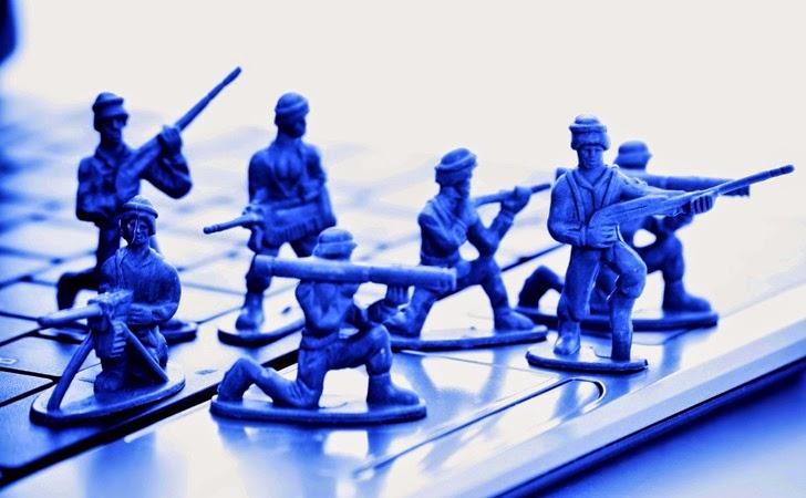 Wojny toczą się dziś także w internecie!