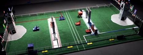 Młodzi Polacy budują robota na FIRST Robotics Competition