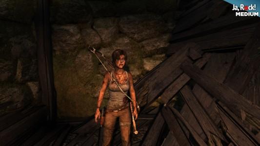Tomb Raider Jakość Średnia (Test 1)