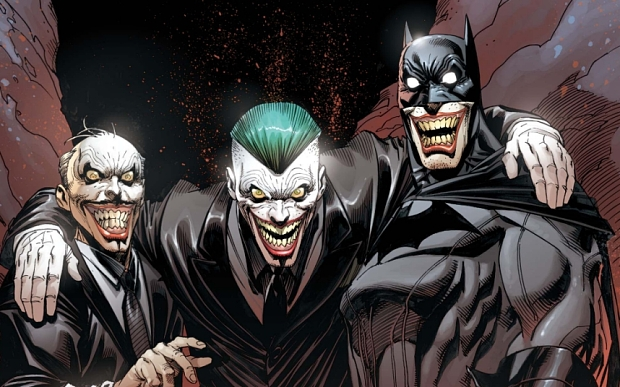 """This photo provided by DC Entertainment shows the cover of issue 40 """"DC Comics: Batman."""" The creators of Batman are dethroning Wayne and bringing in a new Dark Knight as DC Comics begins to gear up for the annual Free Comic Book Day Saturday, May 2, 2015, giveaways and a big superhero summer in books and on screen. (DC Entertainment via AP)"""