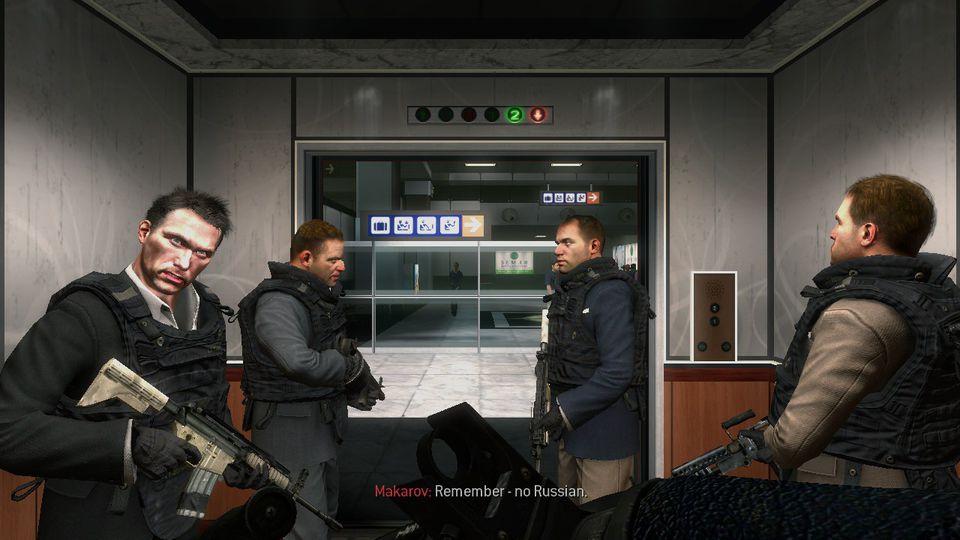 We współczesnych FPSach to własnie Rosjanie najczęściej robią za przeciwników