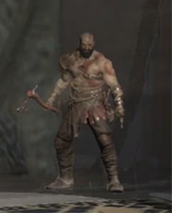 Trochę się kolega Kratos zapuścił...