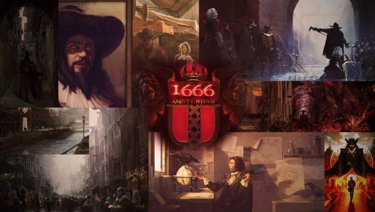 1666: Amsterdam maił skupiać się w okół Rembrandta