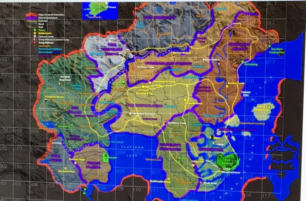 A tutaj całość domniemanej mapy RDR 2