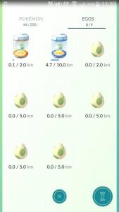 Żeby pokemon się wykluł musicie przejść kilka kilometrów. Nie oszukasz jajek. Jazda samochodem się nie zalicza!