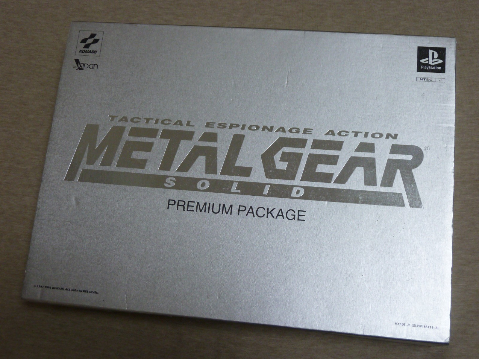 Sony-Play-Station-METAL-GEAR-SOLID-Premium-Package-Limited-Edition-PS-Japan-USED