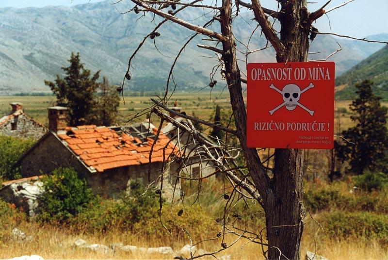 Taki obrazek w Bośni to codzienność