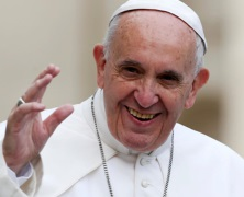 Papież rozumie potęgę YT