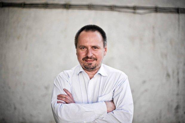 Pierwszy polski internauta Rafał Pietrak (Fot. Filip Klimaszewski / Agencja Gazeta)