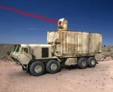 Laserowe działo US Army