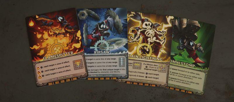 Specjalne karty do kierowania poczynaniami naszych bohaterów