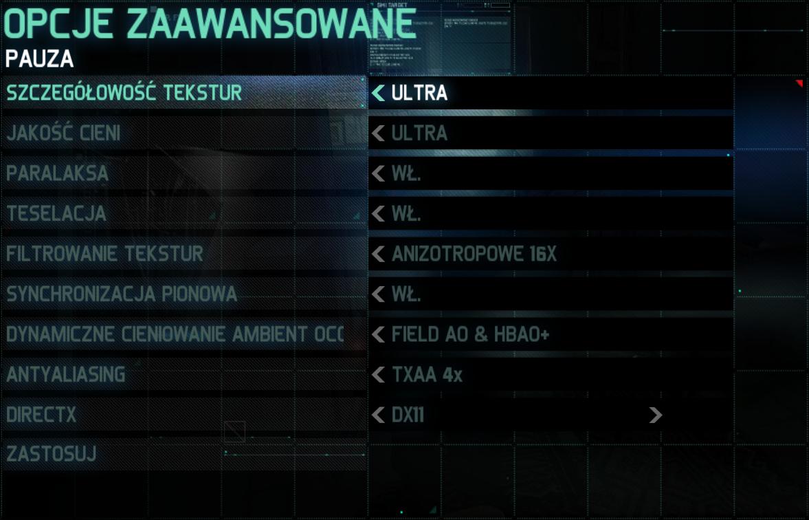 Splinter Cell: Blacklist jakość najwyższa