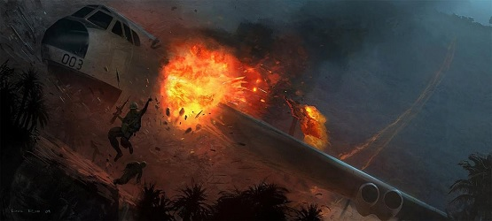 Grafika koncepcyjna ze skasowanego CoD: Fog of War