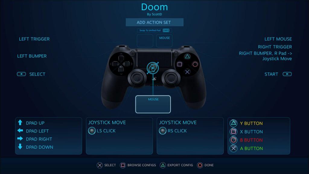 Różnica między DS4, a Steam Controller ma być niewielka