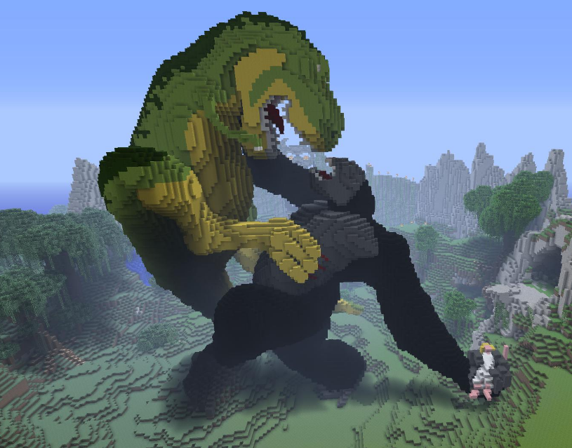 King-Kong minecraft
