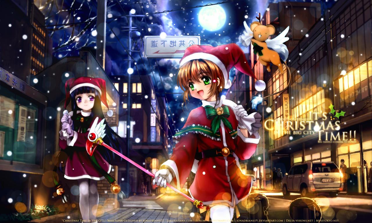 7 anime idealnych na wi ta ja rock - Anime girl christmas wallpaper ...