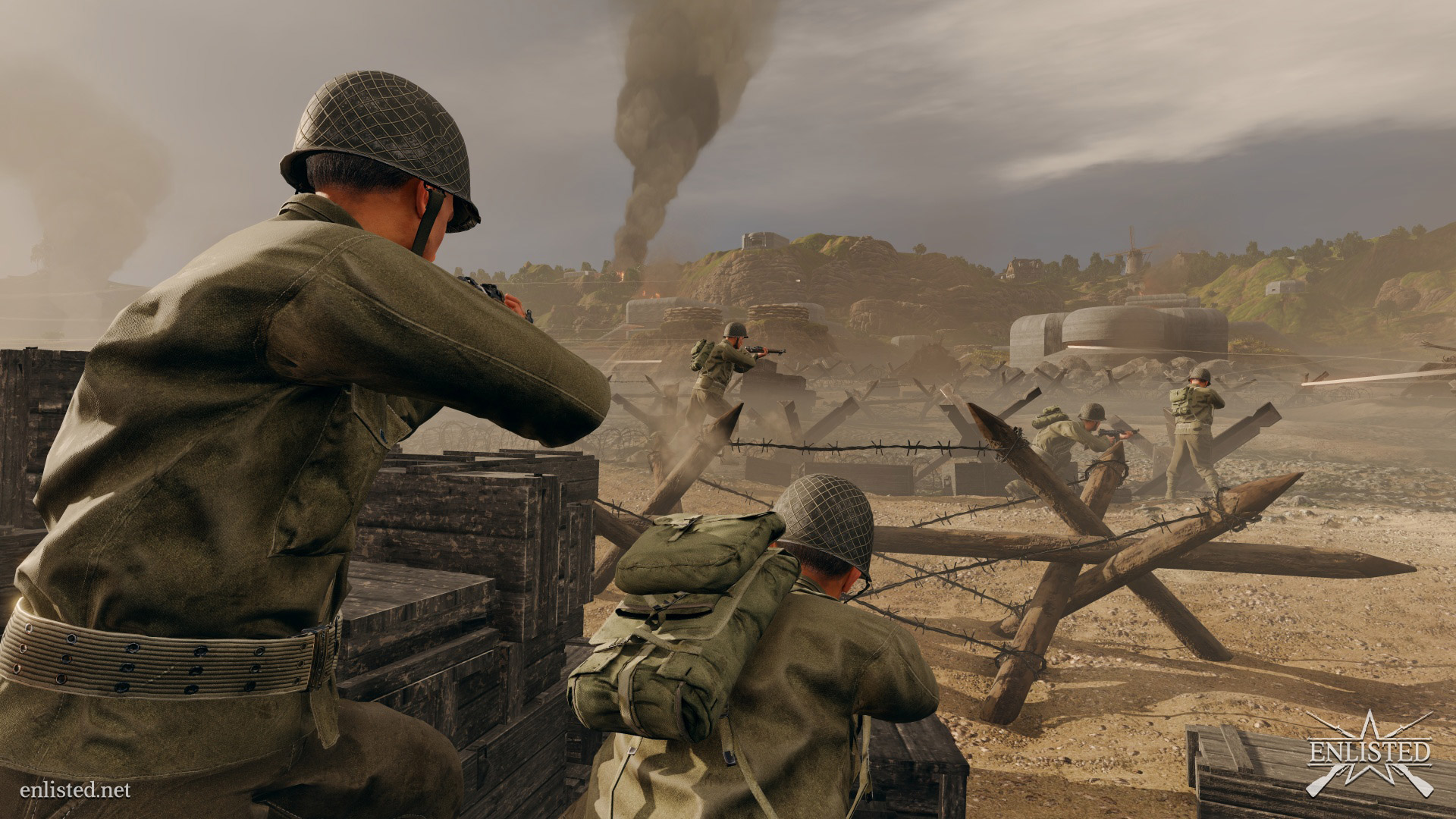 Patrzymy na pierwsze obrazki godnego rywala dla Battlefielda?