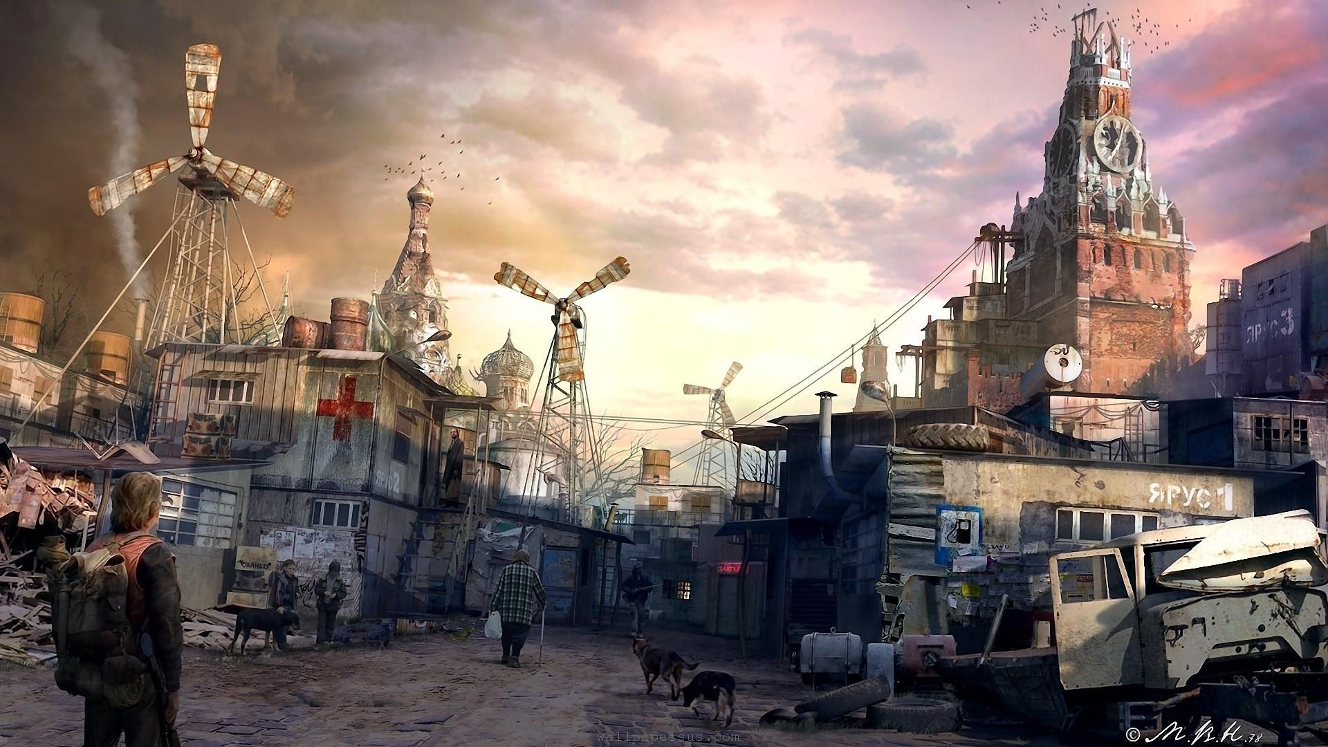 Le Quartier Administratif Ruins-post-apocalyptic-russia-fantasy-art-moscow-artwork-kremlin-cities-postapocalipse