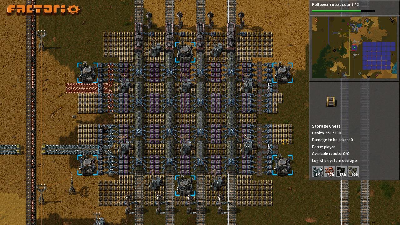 Factorio nie polega tylko na rozbudowie fabryk – nie jesteśmy mile ...