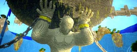 Minecraft na sterydach?
