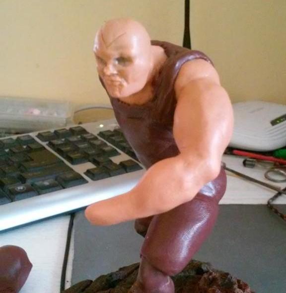 Tworzenie figurek oznacza żmudne nakładanie warstw
