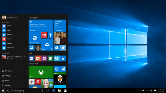 Microsoft przywraca pasek Start