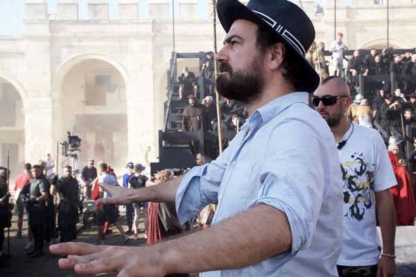 Reżyser na planie zdjęciowym
