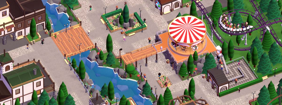 Roller Coaster Tycoon, Parkitect, Planet Coaster