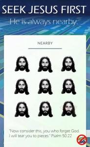 Szukajcie Jezusa, łatwiej Go złapać niż Pikachu!