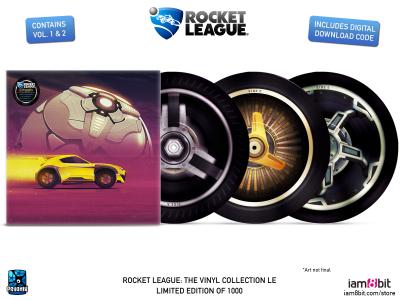 Oprawa graficzna Rocket League: The Vinyl Collection wygląda swietnie.