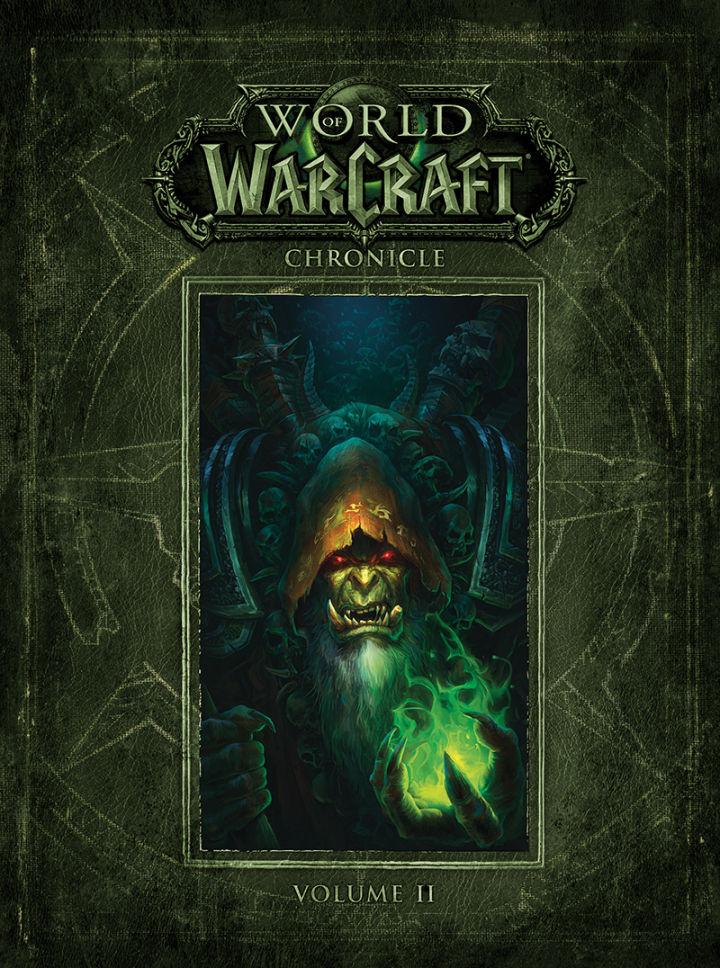Okładka drugiej części World of Warcraft: Chronicle