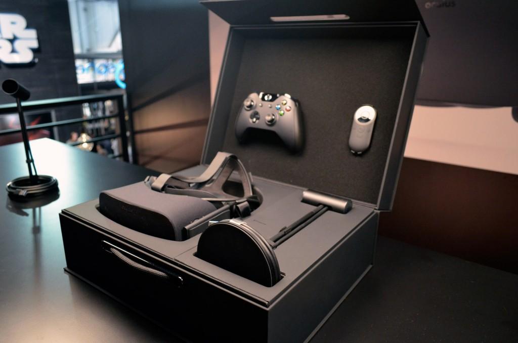 Tak prezentuje się zestaw Oculus Rift