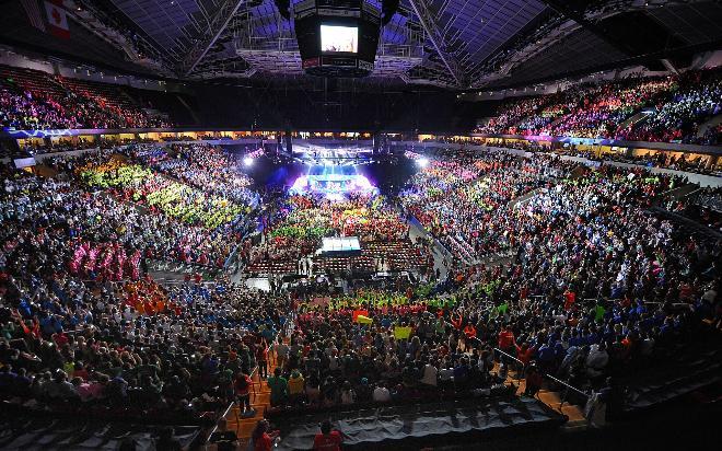 Key Arena w Seattle już czeka na fanów DotA 2.