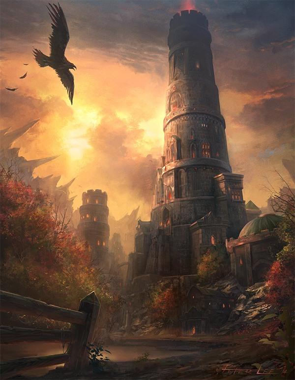 Wieża Medivha (obecne Karazhan) © Peter Lee