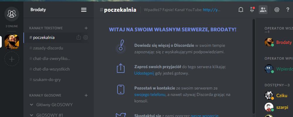 Discord - lepszy darmowy TeamSpeak?