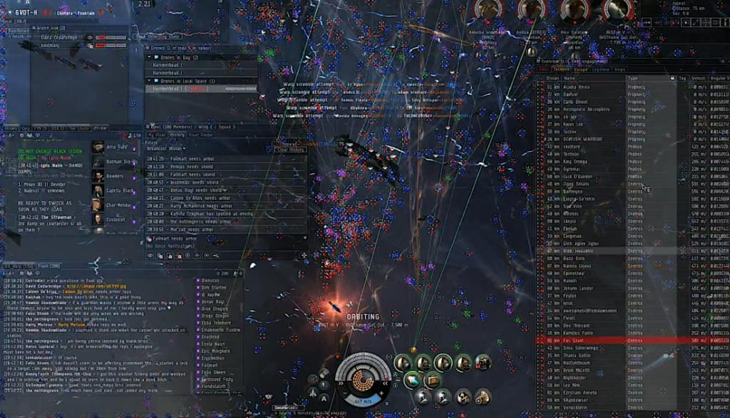 Mechanika w EVE Online to prawdziwy kosmos