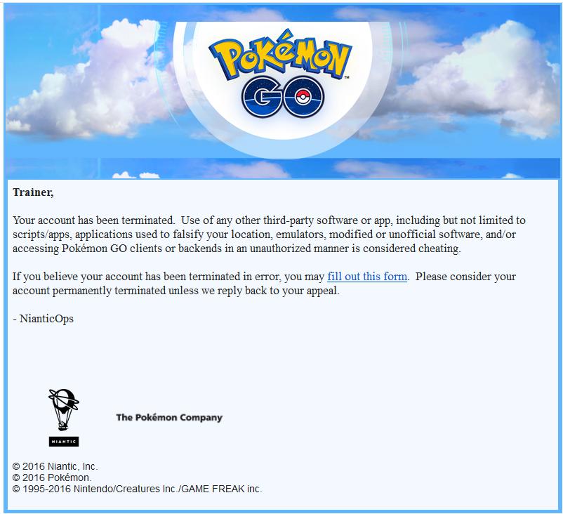 Taka informacja to koniec kariery trenera Pokemon
