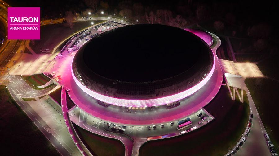 Tauron Arena Kraków już czeka na przywoływaczy