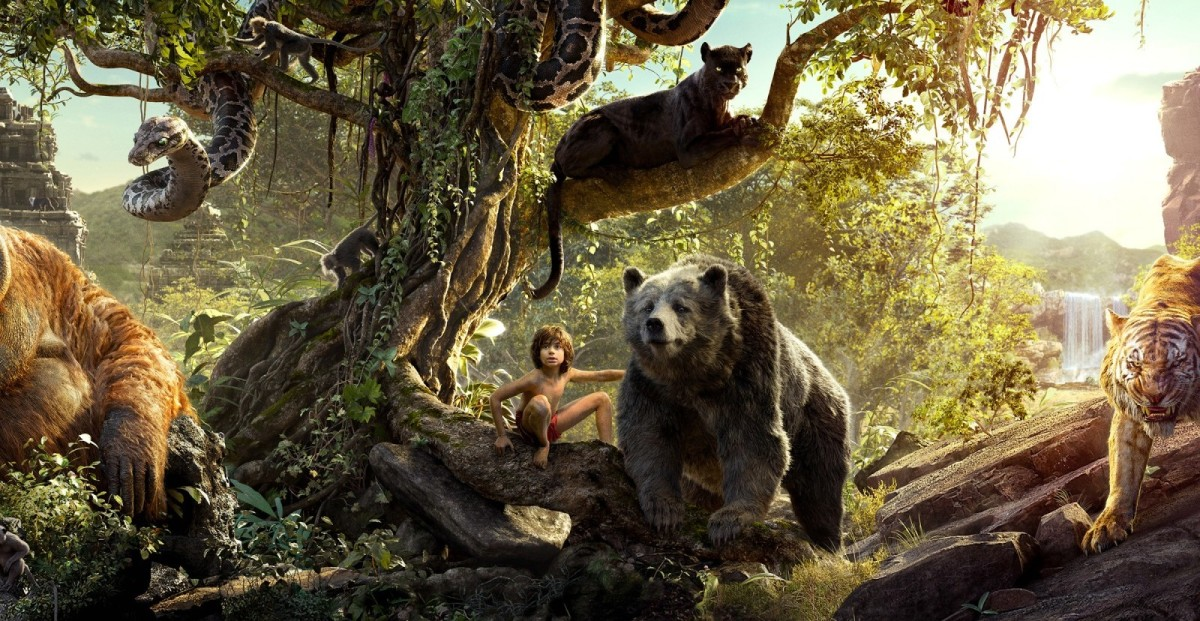Księga Dżungli była bardzo przyjemna, choć  nie jest to moja ulubiona historia