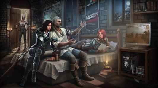 Geralt i kobiety to cała bogata historia trudnej, słodko-gorzkiej miłości.