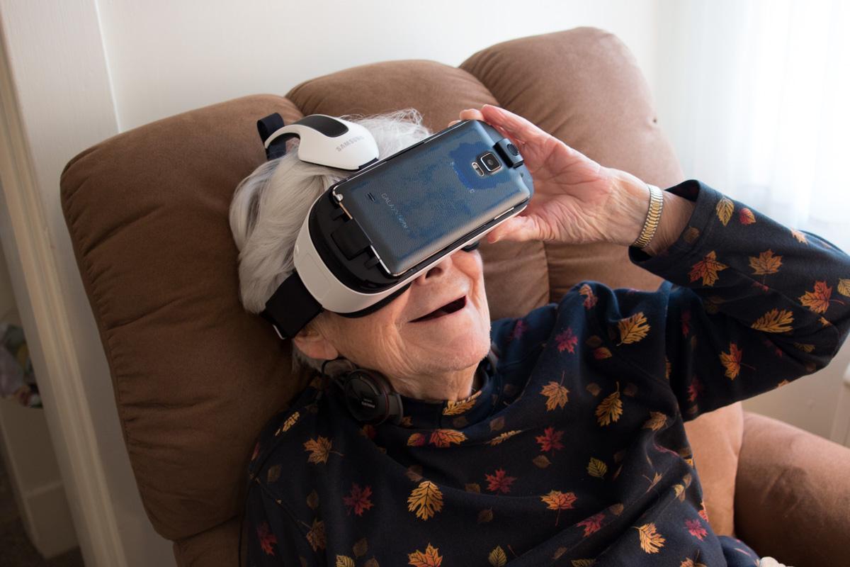 My jesteśmy dziećmi technologii, ale ciekawe co czują starsze osoby w takiej chwili