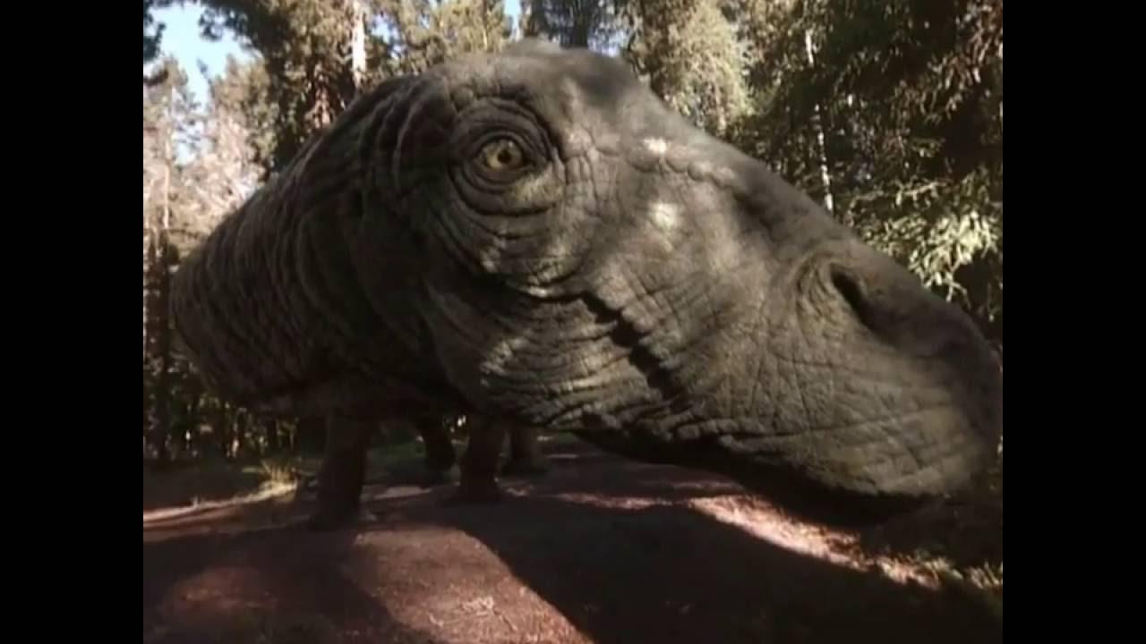 Pierwszy szok jaki przeżyłam, to drepczący nade mną dinozaur
