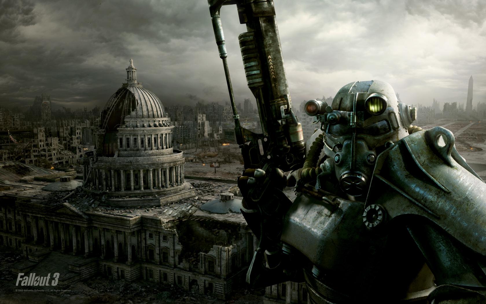 Grafika Fallouta jest piękna w swej brzydocie.