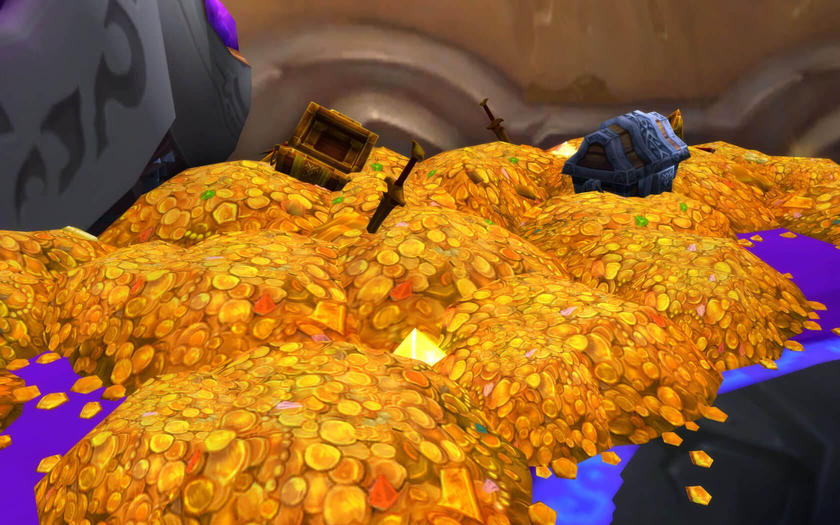 Oj, przydałaby się góra złota, przydała...