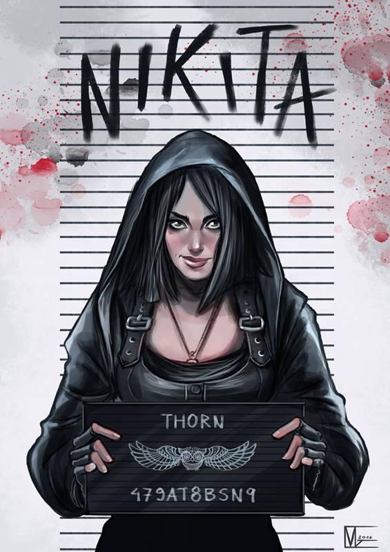 Nikita to nie słodka dziewczynka, to prawdziwy badass
